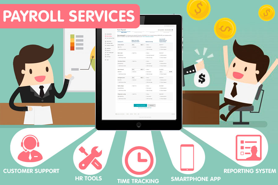 Comparison of Payroll Services