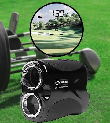 Review of TecTecTec VPRO500 Golf Rangefinder - Laser Range Finder with Pinsensor