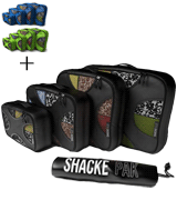 Shacke 4sp-00011 Travel Organizers with Laundry Bag