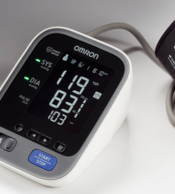 Review of Omron BP786N 10 Series Wireless Upper Arm Blood Pressure Monitor