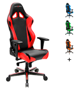 DXRacer Racing Series DOH/RV001/NR Newedge Edition Gaming Chair for 220 lbs