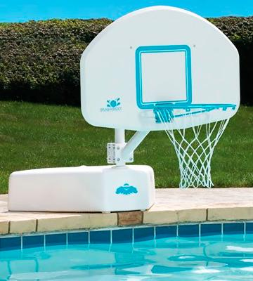 Review of Dunnrite Products Splash and Shoot Swimming Pool Basketball Hoop