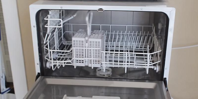 Sunpentown Countertop Dishwasher, Silver in the use