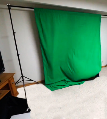 Review of Julius Studio JSAG283 Photo Video Studio 10 ft. Background Stand Backdrop