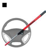 Winner International The Club 1000 Original Club Steering Wheel Lock