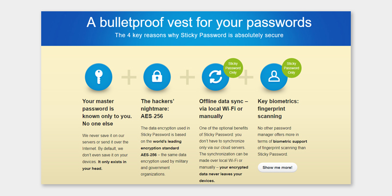 Detailed review of Sticky Password Premium