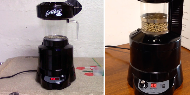 Review of FreshRoast SR-540 Home Coffee Roaster
