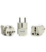 Ceptics Universal Plug Adapter for Europe