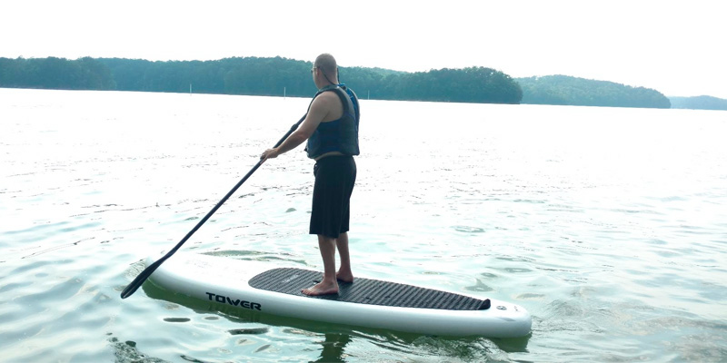 Tower Paddle Boards Adventurer Inflatable SUP Boards application