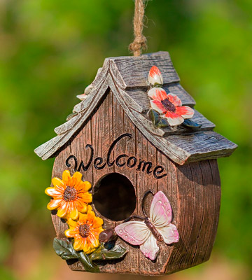 Review of Dawhud Direct DHA-583 Decorative Hand-Painted Bird House