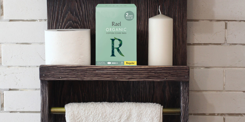 Review of Rael 28Pcs Perfect for Teens/Tweens Organic Cotton Sanitary Pads