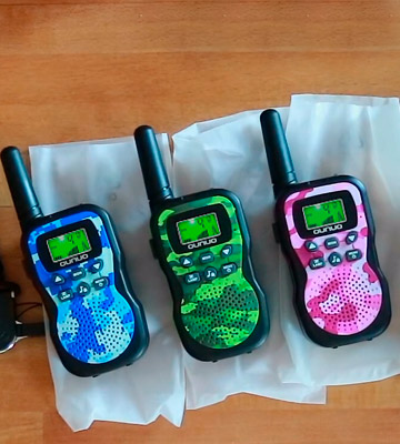 Review of Huaker 3 Pack Kids Walkie Talkies