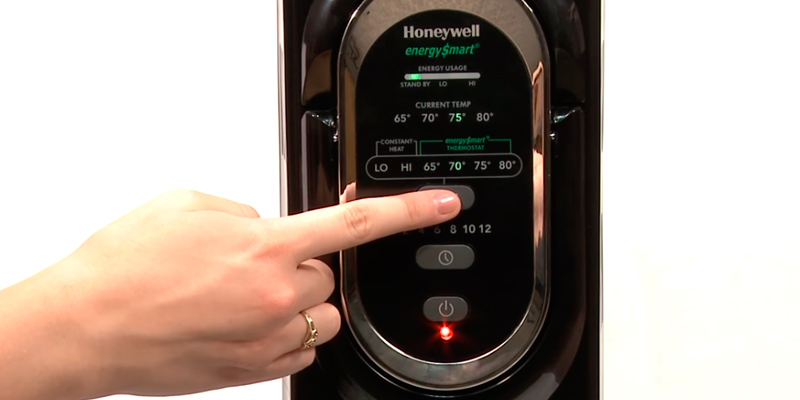 Honeywell HZ-789 Electric Oil Filled Radiator Whole Room Heater in the use