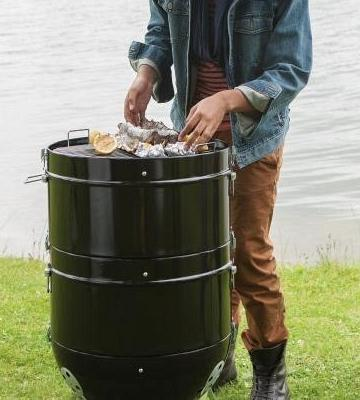 Review of Napoleon 20-inch Charcoal Grill and Water Smoker
