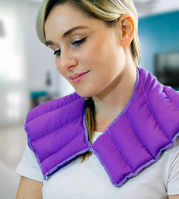 Review of My Heating Pad 10600-PPL Neck & Shoulder Wrap