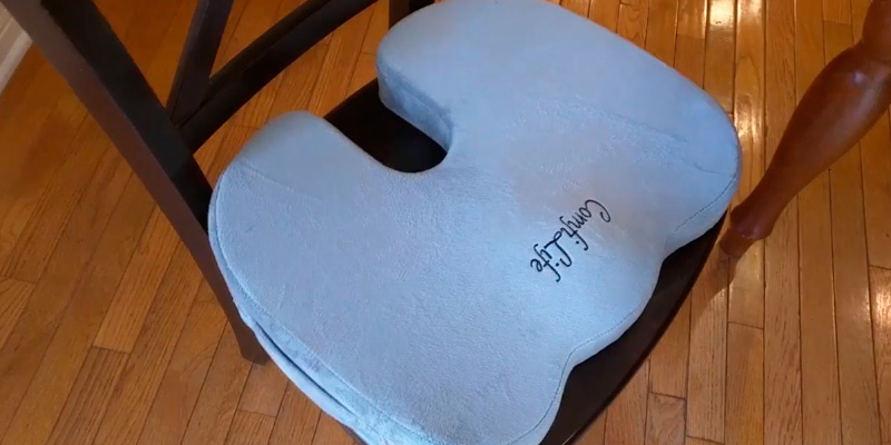 Review of ComfiLife SYNCHKG080643 Coccyx Orthopedic Memory Foam Office Chair and Car Seat Cushion