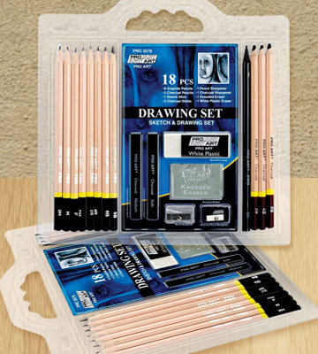 Review of PRO ART Sketch Draw Pencil Set