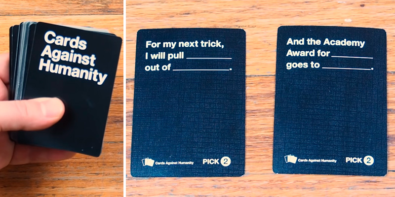 Cards Against Humanity Party Game for Horrible People in the use