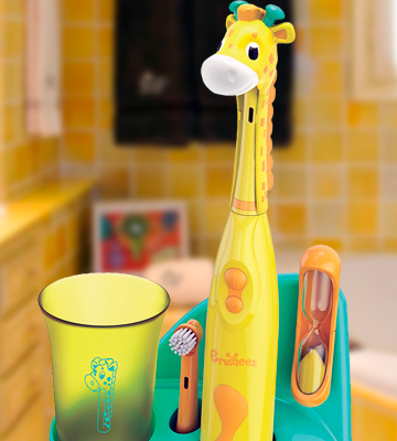 Review of Brusheez Jovie the Giraffe Children's Electronic Toothbrush Set