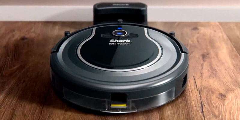 Shark ION Robot (R75) Robotic Vacuum Cleaner in the use