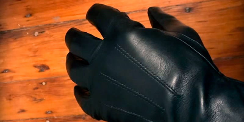 Review of ELMA Luxury Touchscreen Italian Nappa Leather Men's Dress Gloves
