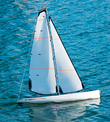 Review of DragonFlite DF95 Class RC Sailboat Plug N Play