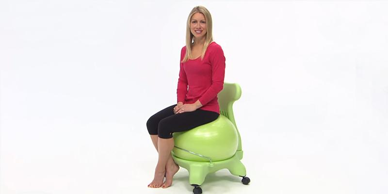 Gaiam Balance Ball Chair in the use