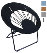 Impact Canopy 460020002-VC BlackRound Bungee Chair