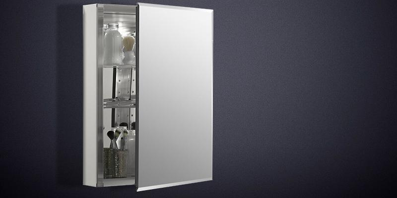 KOHLER K-CB-CLC2026FS Single Door Aluminum Cabinet in the use