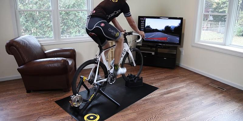 CycleOps Fluid2 Indoor Trainer in the use