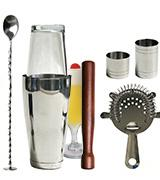 Winware Boston Cocktail Shaker Gift Set