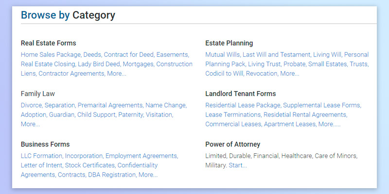 Detailed review of USLegal Lease Agreement