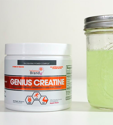 Review of Genius 8 ounces Creatine Powder