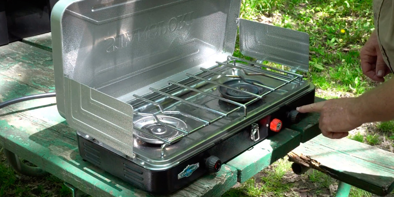 Stansport 212 Outfitter Series Burner Propane Stove in the use