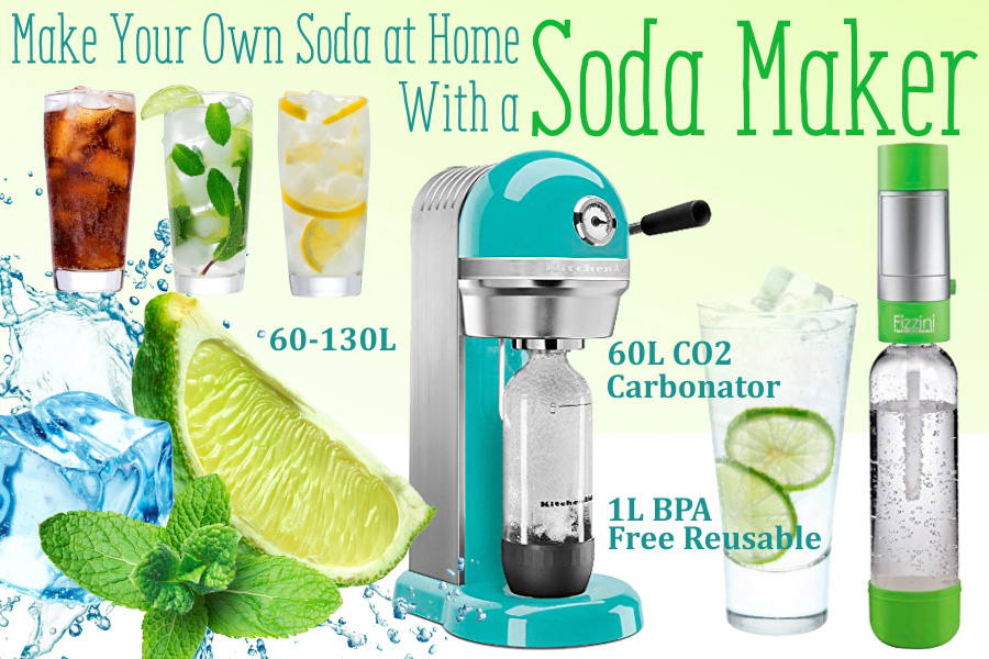 Comparison of Soda Makers