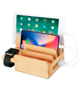 Upow CS007 Bamboo Charging Station