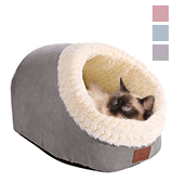 Miss Meow Cat Bed Round and Cave Shape