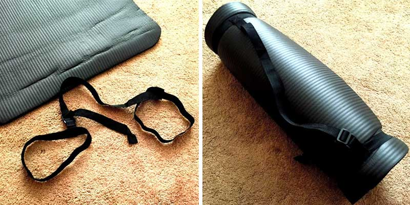 Detailed review of BalanceFrom GoYoga Exercise Yoga Mat with Carrying Strap