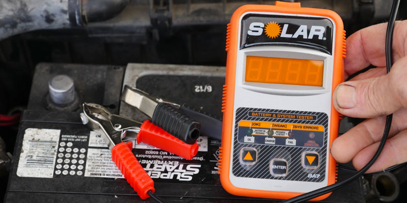 Detailed review of Clore Automotive SOLAR BA5 Electronic Battery Tester