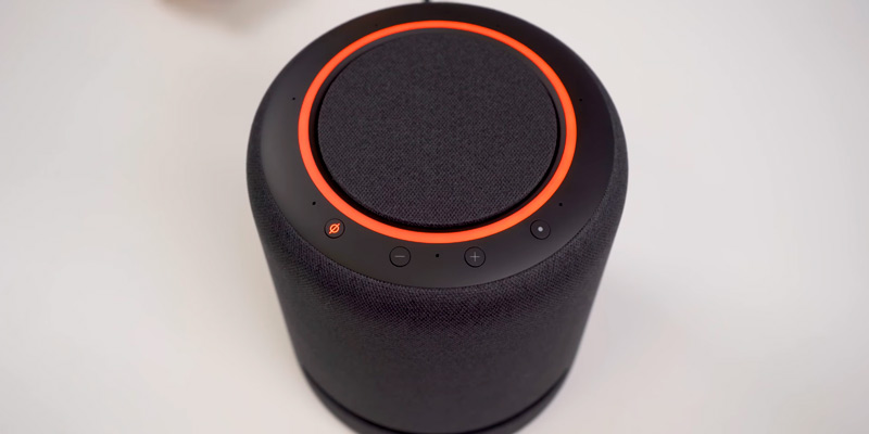 ECHO Studio High-Fidelity Smart Speaker with 3D Audio and Alexa in the use