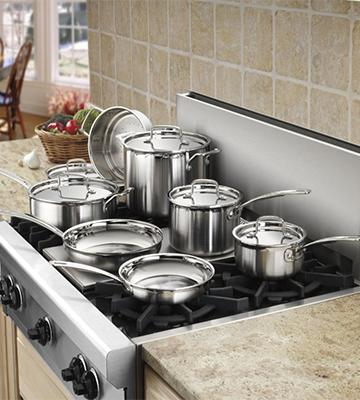 Review of Cuisinart 12-Piece Induction Cookware Set