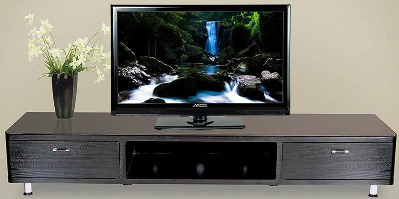Review of Axess LED HDTV Includes AC/DC TV Built-In DVD Player