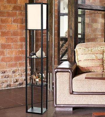 Review of Simple Designs Home LF1014 Floor Lamp