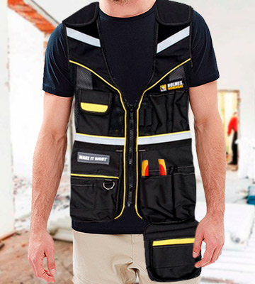 Review of Holmes 10-3530-MHBLK Workwear Tool Vest