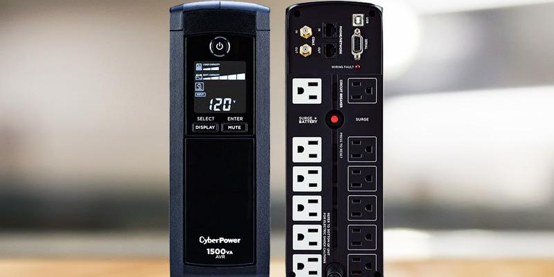 Cyberpower CP1500AVR Intelligent LCD UPS Mini-Tower in the use
