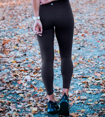 Review of Lululemon High Times Pant Full On Luon 7/8 Yoga Pants