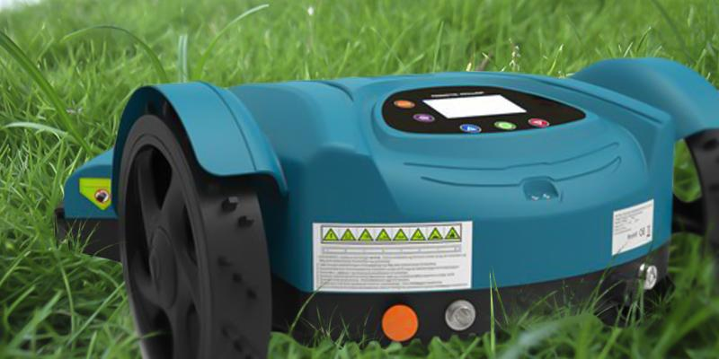 Milagrow RoboTiger 2.0 Robotic Lawn Mower in the use