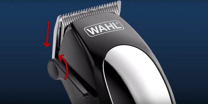 Wahl 9766 Home Pet Wireless Rechargeable Clipper Kit in the use