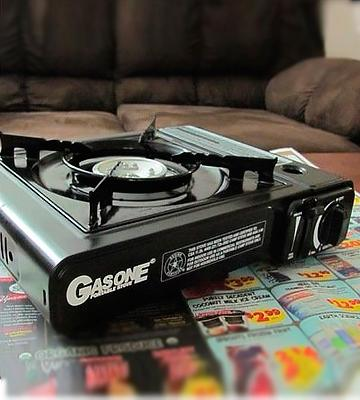 Review of GasOne GS-3000 Portable Gas Stove with Carrying Case