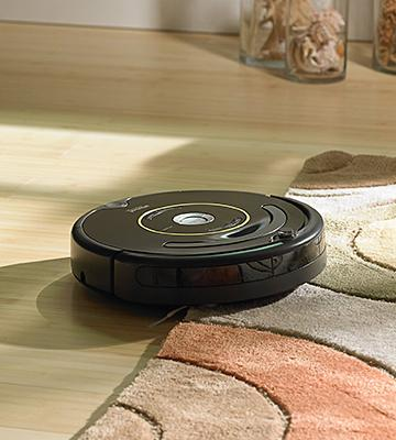 Review of iRobot Roomba 650 Robotic Vacuum Cleaner Automatically docks